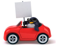 Fun penguin Royalty Free Stock Photos