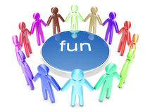 Fun People Stock Image