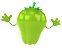 Fun pepper Royalty Free Stock Photos