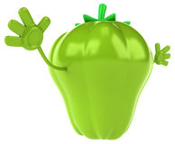 Fun pepper Royalty Free Stock Image