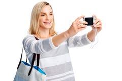 Fun photo woman Stock Image