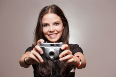 Fun photography. Royalty Free Stock Photography