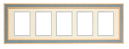 Fun Picture Frame (with Clipping path) Stock Photography