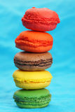 Fun pile of macaroons Royalty Free Stock Images