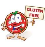 Fun pizza cartoon Royalty Free Stock Photos