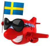 Fun plane Royalty Free Stock Image