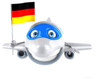 Fun plane Royalty Free Stock Images