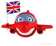 Fun plane Stock Image