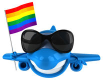 Fun plane Royalty Free Stock Photo