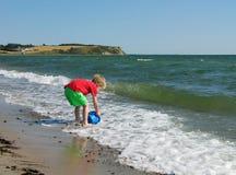 Fun play on the beach Stock Photo