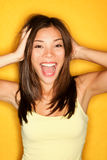 Fun playful girl Stock Photos