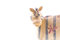Fun and Playful Zebra Royalty Free Stock Images