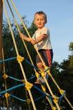 Fun on playground Stock Images