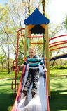 Fun on playground Royalty Free Stock Photos