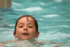 Fun in the pool Stock Images