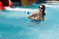 Fun in a pool Stock Photos