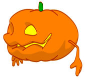 Fun pumpkin Royalty Free Stock Photo