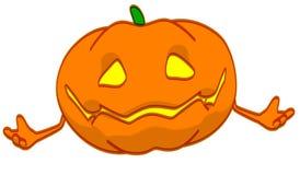 Fun pumpkin Stock Image