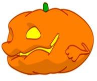 Fun pumpkin Stock Photo