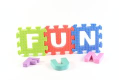 Fun puzzle Royalty Free Stock Photo