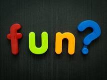 Fun question stock photo