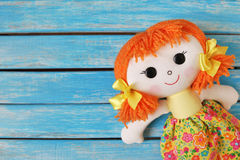 Fun rag doll Stock Images