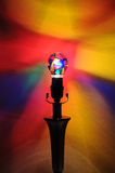 Fun Rainbow Party Lightbulb Stock Image