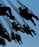Fun ride. A fun amusement park ride Royalty Free Stock Photography