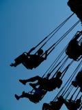 Fun ride. A fun amusement park ride Stock Images