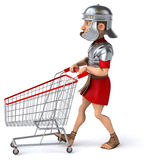 Fun roman soldier Stock Images