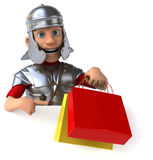 Fun roman soldier Stock Image