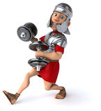 Fun roman soldier Stock Image