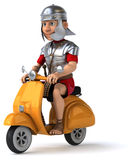 Fun roman soldier Stock Photo