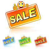 Fun sale icon Stock Photography