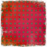 Fun, scrappy pattern backdrop Royalty Free Stock Image