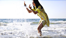 Fun in the sea Stock Photography