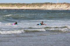 Fun in the sea Royalty Free Stock Image