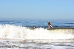 Fun in the sea Stock Image