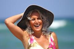 Fun seaside vacation Stock Photo