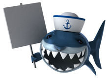 Fun shark Royalty Free Stock Photo