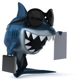Fun shark Royalty Free Stock Photography
