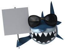 Fun shark Stock Images