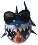 Fun shark Royalty Free Stock Photo