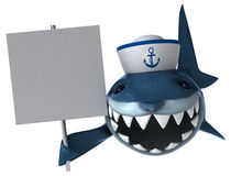 Fun shark Stock Photos