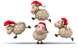 Fun sheep Royalty Free Stock Photos