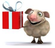 Fun sheep Royalty Free Stock Image