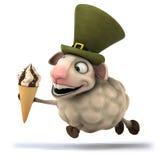 Fun sheep Stock Image