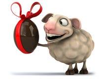 Fun sheep Stock Photography