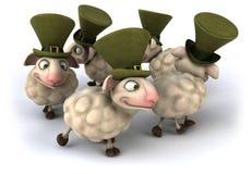 Fun sheeps Royalty Free Stock Photos