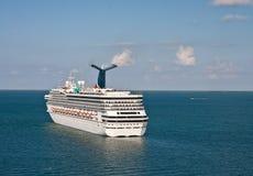 Fun Ship Sailing Away Royalty Free Stock Photo
